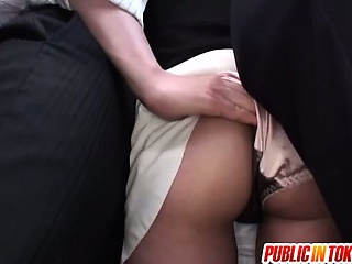 Very nice milf bus action with hardcore fucking