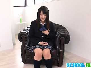 Teen Nana Usami Gets Creampied In Her School Uniform