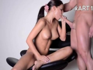 Craftsmanship of anal sex with huge tits