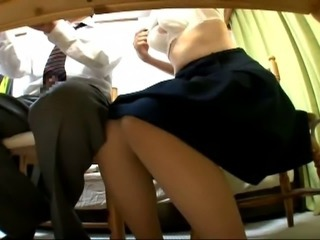 Asian Skirt Teacher