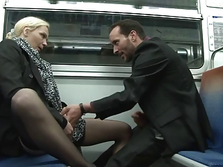 Clothed  Public Stockings