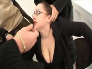 Gangbang Glasses  Secretary