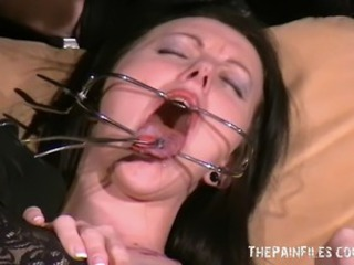 Slutty Emily Sharpes painful medical examination and humiliating doctors...