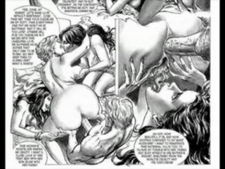 Masterpiece of Bondage Sex Orgy Comic free