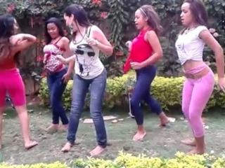 Dancing Outdoor Teen