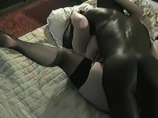 Amateur Hardcore Interracial Stockings Wife