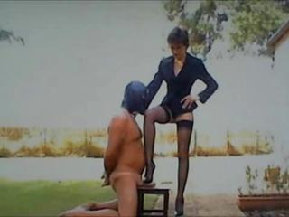 stooge punished for delicious Mistress