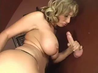 Big Tits Gloryhole Handjob