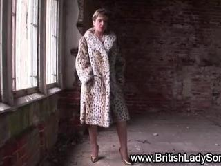 Posh british mature whore