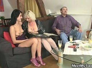 She likes copulation with his parents