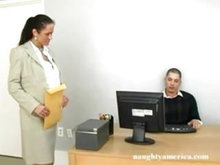 Naughty Office - Carmella Bing