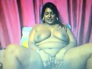 Chubby Indian Mature  Webcam