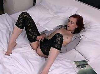 European Masturbating Stockings Teen