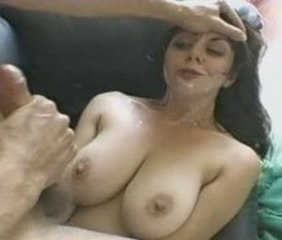 Big Tits Cumshot Facial  Natural Swallow
