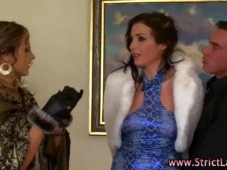 Check this mistress with femdom and lezdom