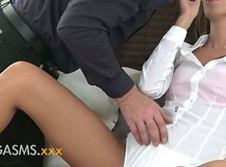 ORGASMS Incredible babe rimming handsome man beautiful sex