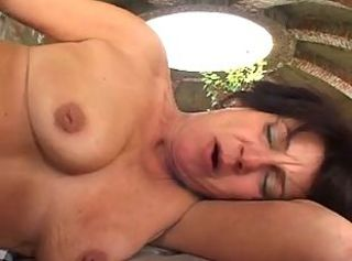 OUTDOOR ANAL FOR A MATURE IN PLAID