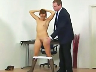 Prinicipal punishes college babe
