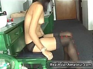 Amateur Asian Casting Teen