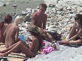 BEACH COUPLE FUCK 16