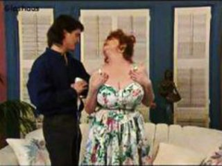 Big Tits Mature Mom Natural Old and Young Redhead Vintage