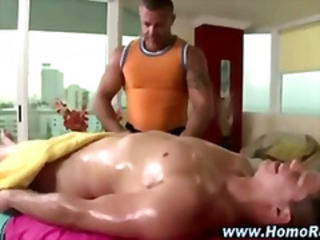 Gay massage turns straighty