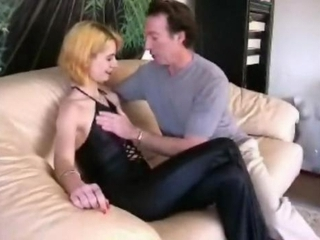 skinny blonde milf loves it in the ass