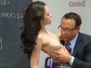 powered tutor fucks a beautiful brunet