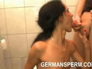 Amateur Blowjob  Showers Swallow