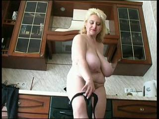 Russian mature huge tits
