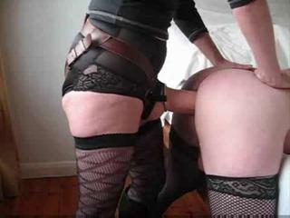 """Husband takes a huge dong up his ass from wife"""" class=""""th-mov"""