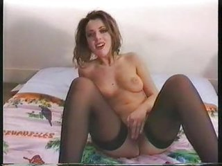 Amateur Casting European French Masturbating Stockings Teen