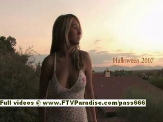 "Ftv girl, alison, lovely busty blonde have a halloween night"" class=""th-mov"