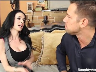Busty milf Veronica Avluv gets seduced by sons friend