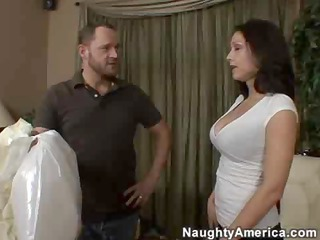 horny latino milf copulates a amateur stud