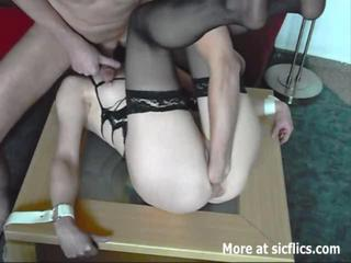 Amateur housewife fist fucked in bondage Sex Tubes