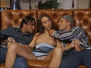 Cute Handjob Teen Threesome