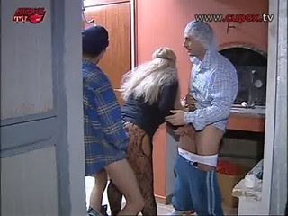 Amateur Doggystyle European Italian  Threesome