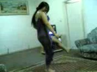 Arab Dancing Teen
