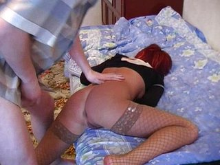 Drunk redhead amateur girl gets fucked