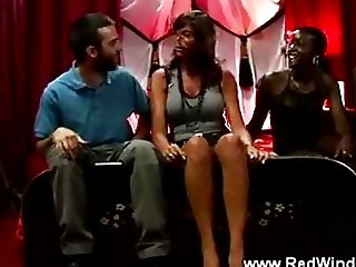 African Prostitute Swallowing Wh...