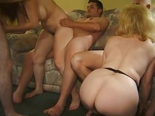 Groupsex Mature Orgy