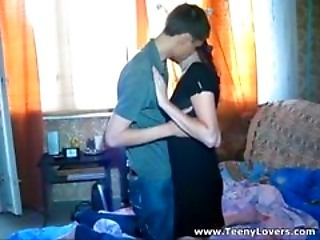 Girlfriend Kissing Russian Teen