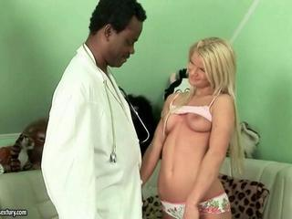 Doctor Interracial Old and Young Teen