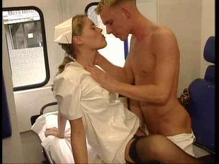 Car Clothed Nurse Teen Uniform