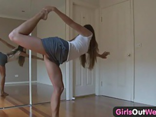Flexible Legs Teen
