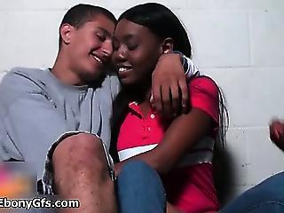 Amateur Negreta Al·lota Interracial Adolescent