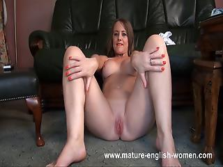 British European Mature Pussy Shaved Solo