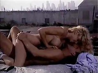 Rooftop sex in a retro fuck video tubes