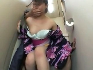 Asian Clothed Forced Hardcore Toilet